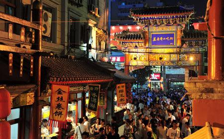 Night Market a Wangfujing