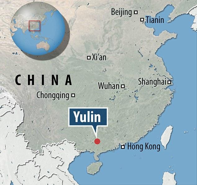 Yulin Map